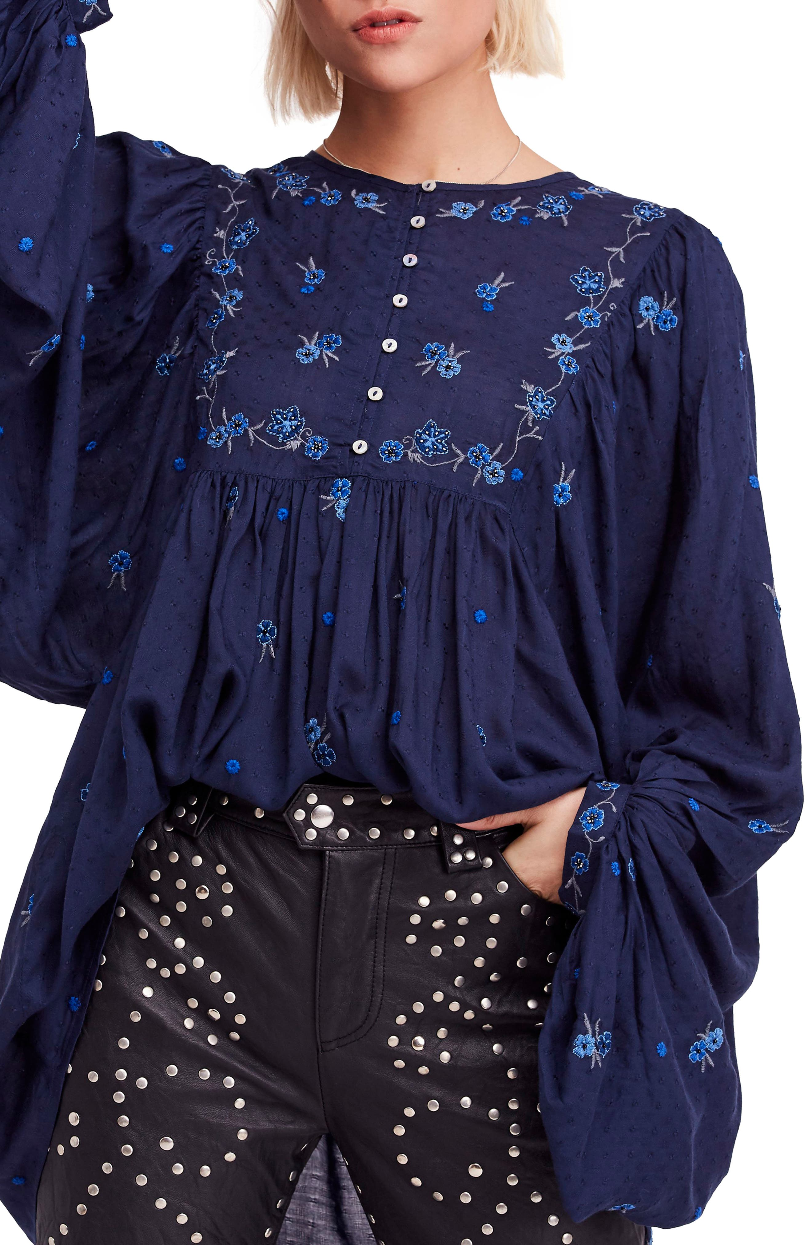KISS FROM A ROSE TUNIC TOP