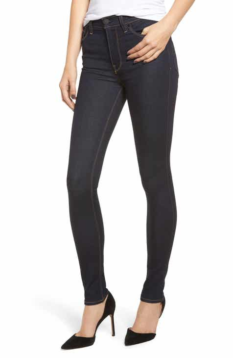 Joe's Charlie Cobra Stripe High Waist Ankle Skinny Jeans by JOES