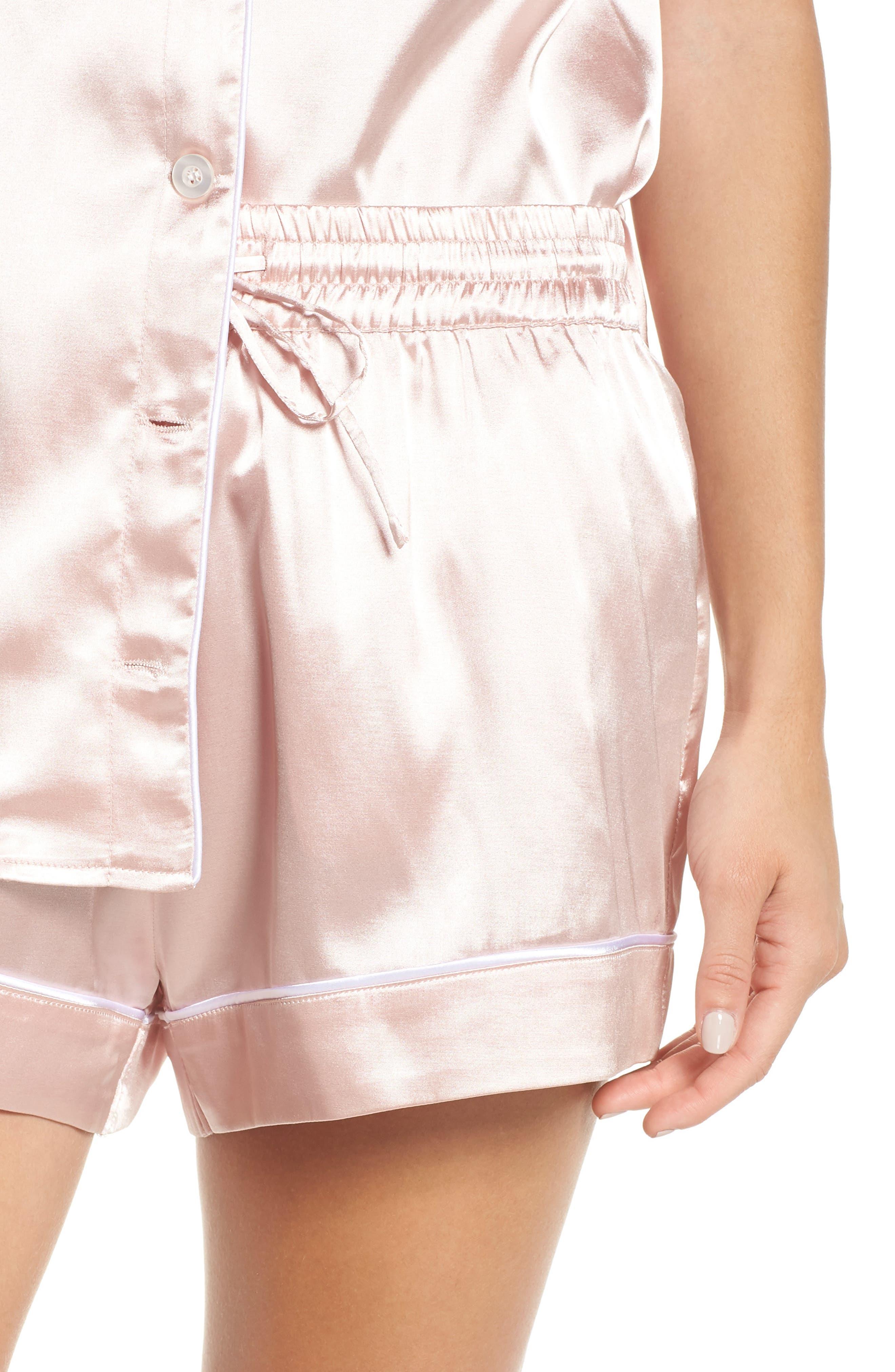 Bridesmaid Pajamas,                             Alternate thumbnail 4, color,                             Pink