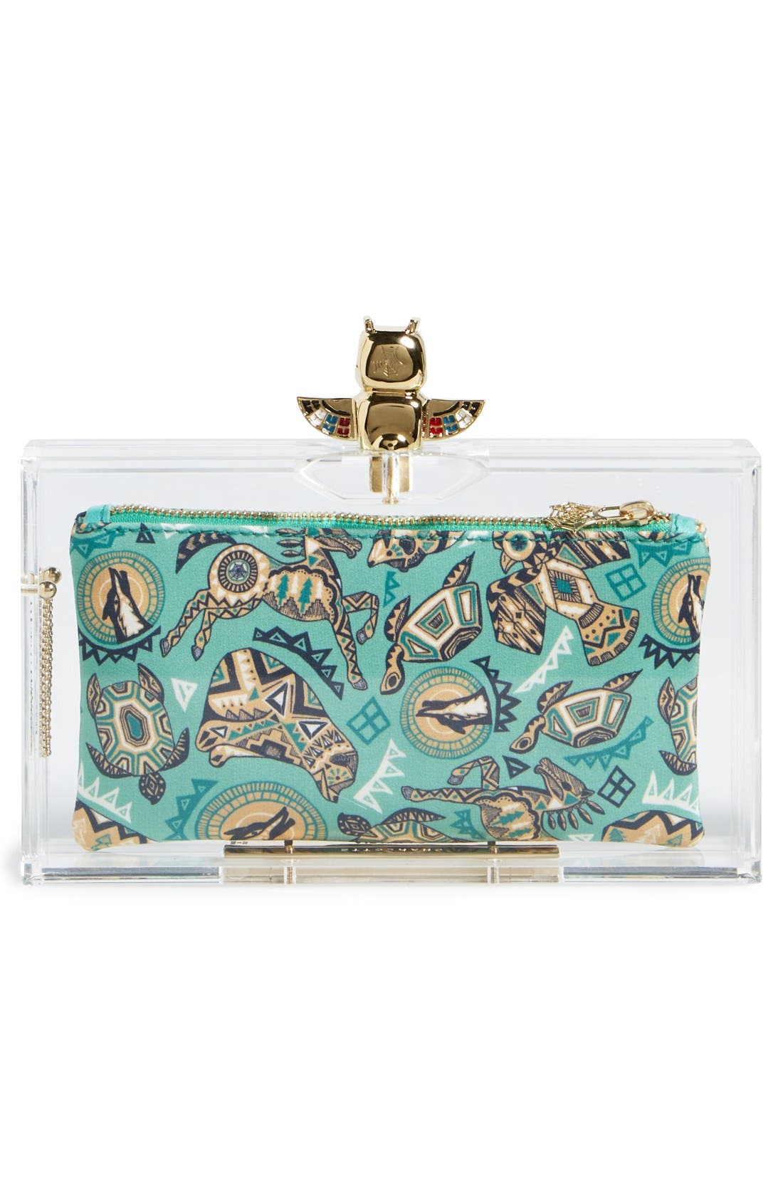 Alternate Image 3  - Charlotte Olympia 'Pandora' Clutch with Zip Pouches