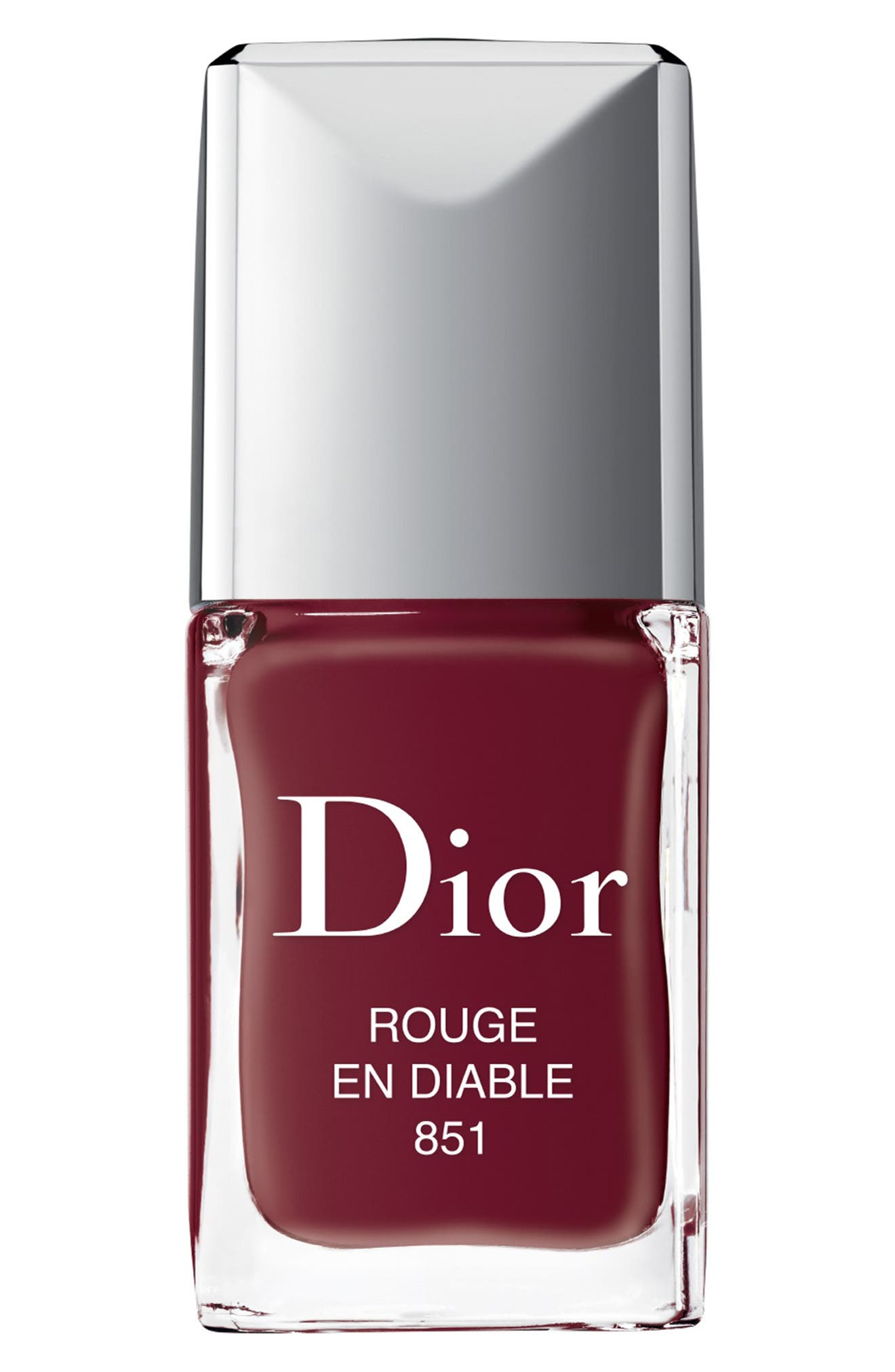 Vernis Gel Shine & Long Wear Nail Lacquer,                             Main thumbnail 1, color,                             851 Rouge En Diable