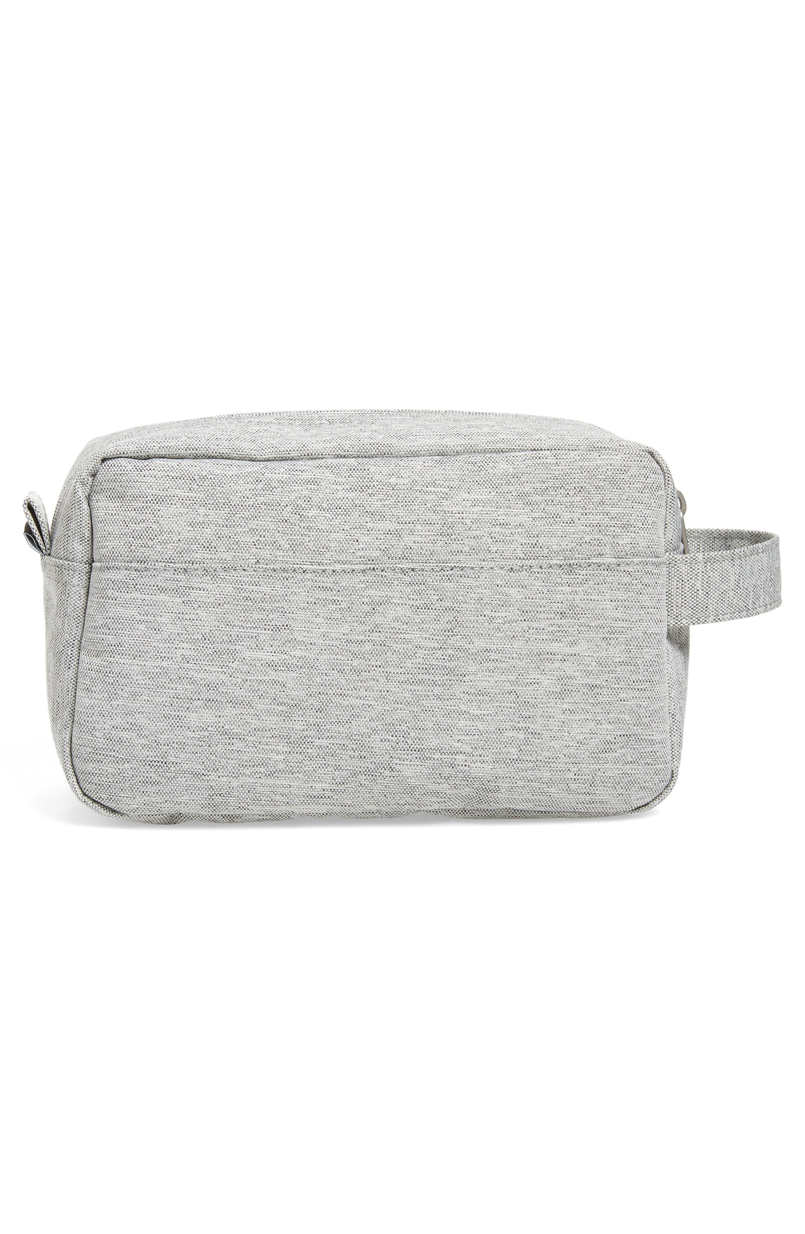 Chapter Carry-On Travel Kit,                             Alternate thumbnail 2, color,                             Light Grey Crosshatch