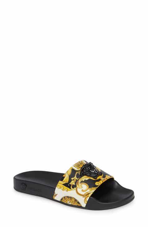 c6af438f6844 Versace Palazzo Slide Sandal (Women)