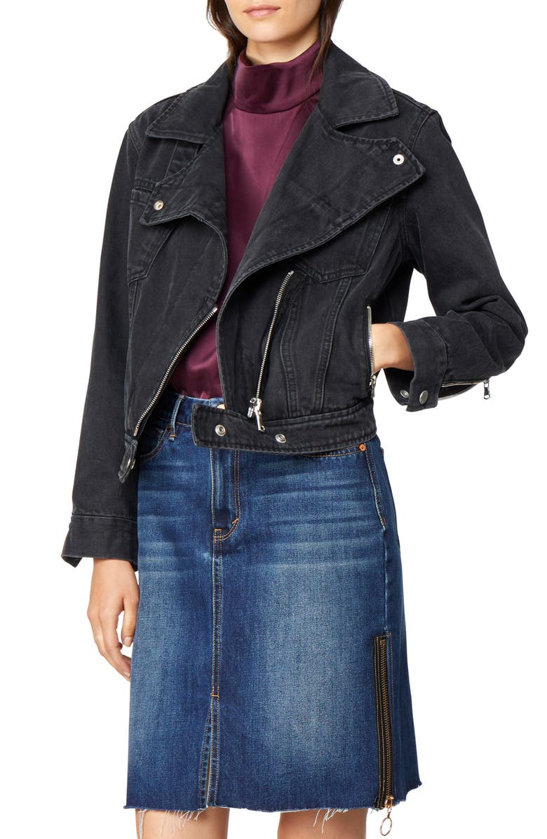 Gianna Moto Denim Jacket