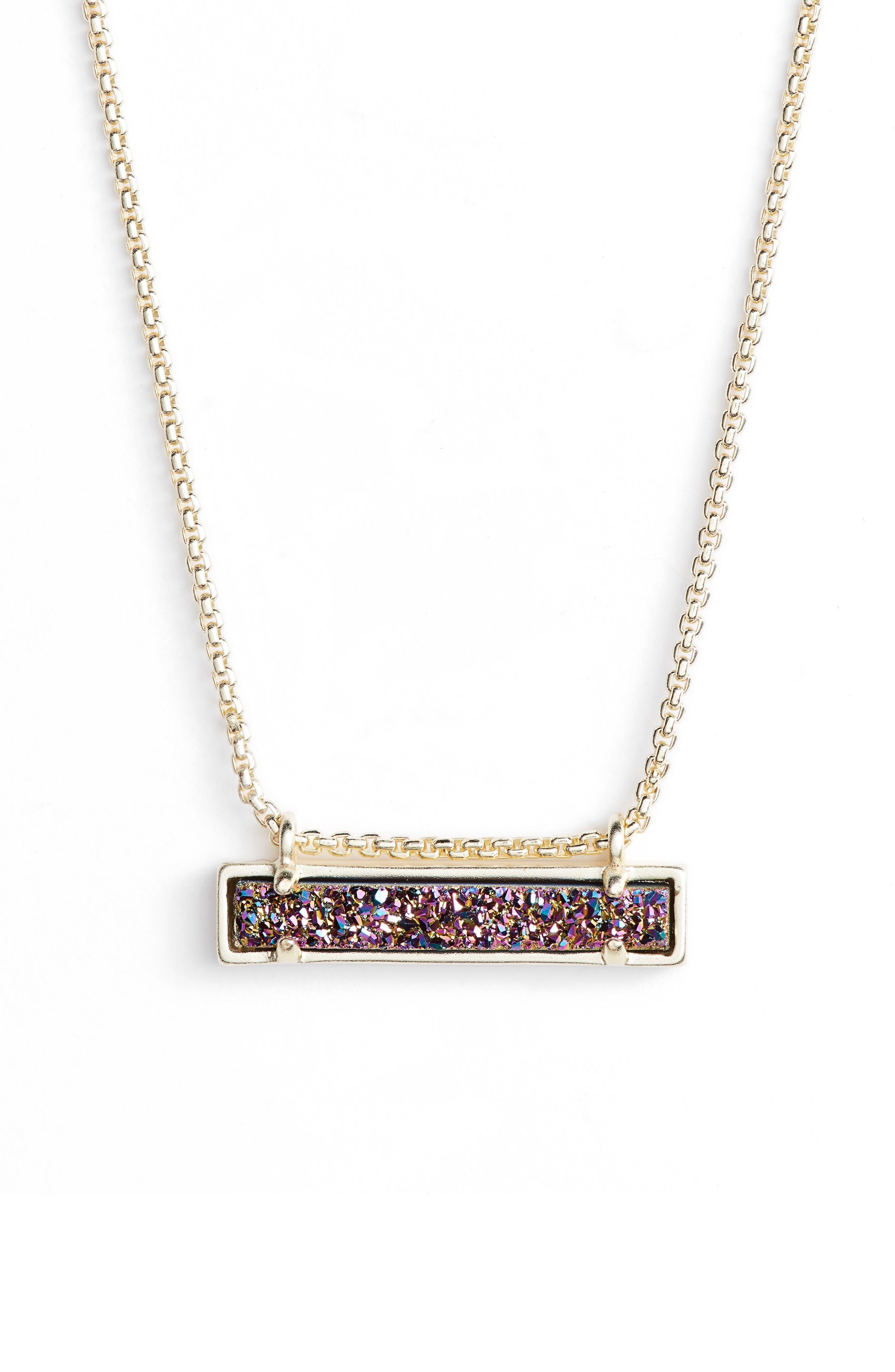 Leanor Pendant Necklace,                             Main thumbnail 1, color,                             Multi/ Gold
