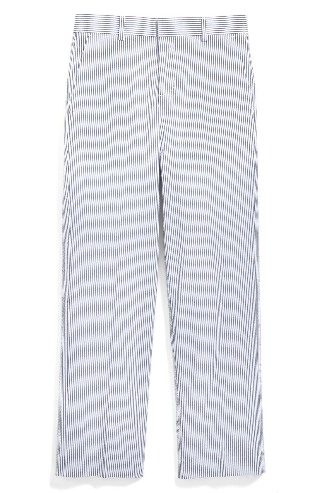 Main Image - Nordstrom 'Quentin' Seersucker Trousers (Toddler Boys, Little Boys & Big Boys)