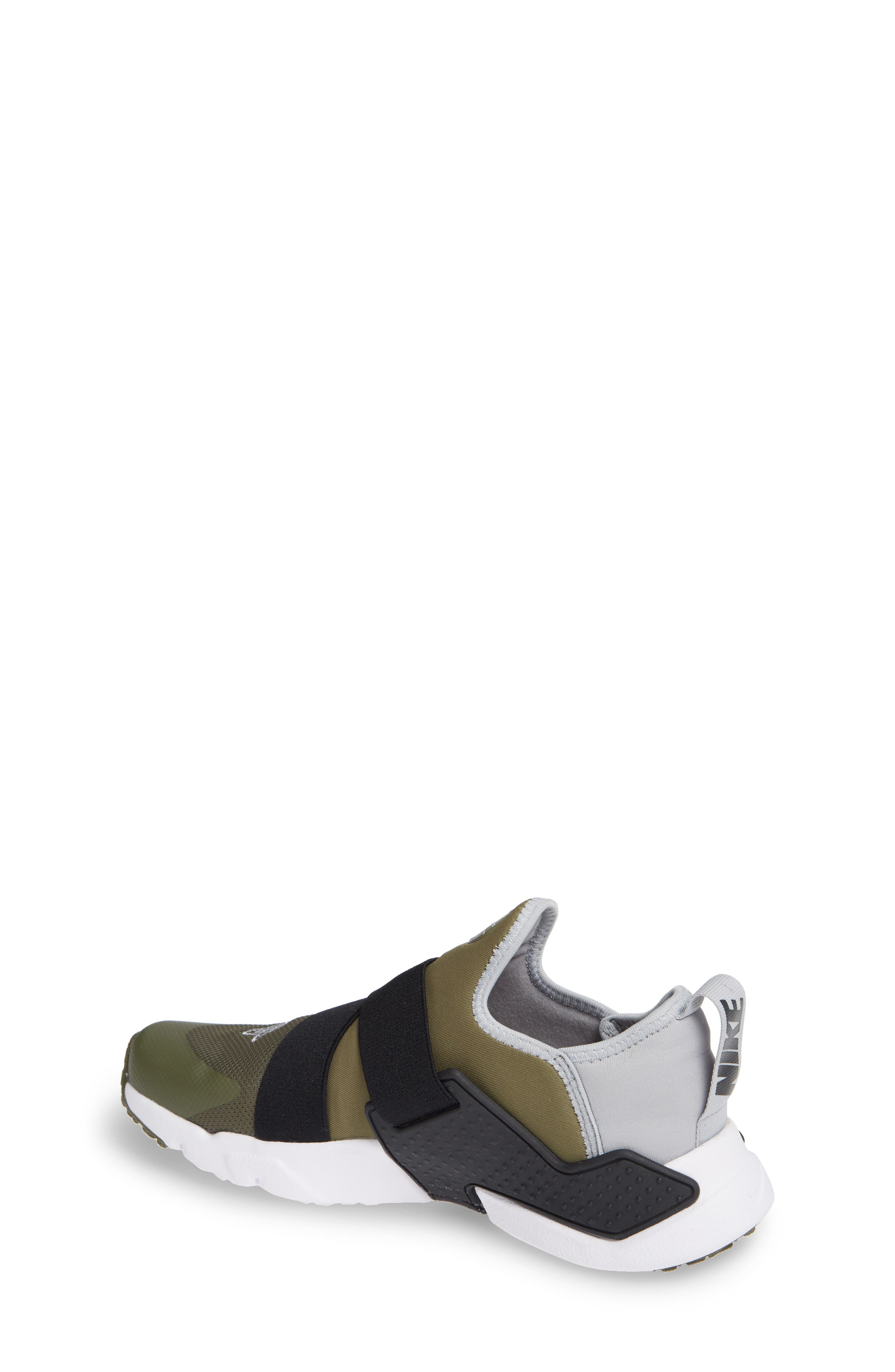 Huarache Extreme Sneaker,                             Alternate thumbnail 2, color,                             Olive/ Wolf Grey/ Black/ White