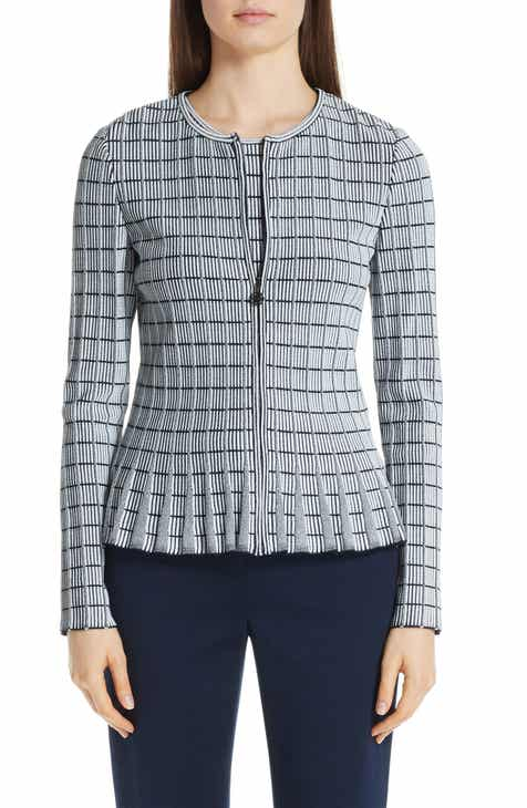 St. John Collection Ottoman Knit Jacket by ST. JOHN COLLECTION