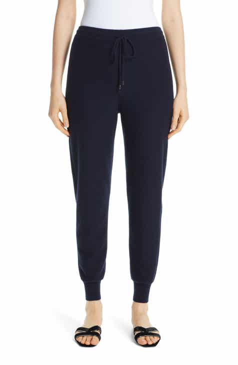 St. John Collection Float Jacquard Knit Cashmere Pants by ST. JOHN COLLECTION