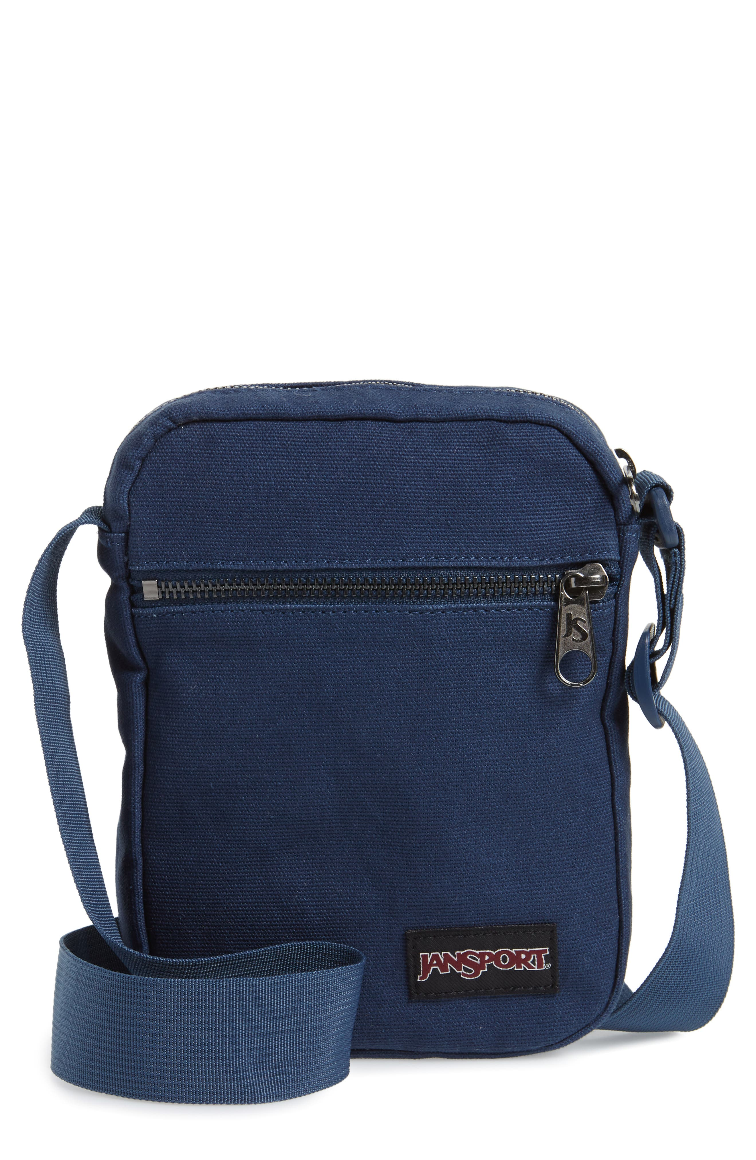 JANSPORT CROSSBODY FX BAG - BLUE