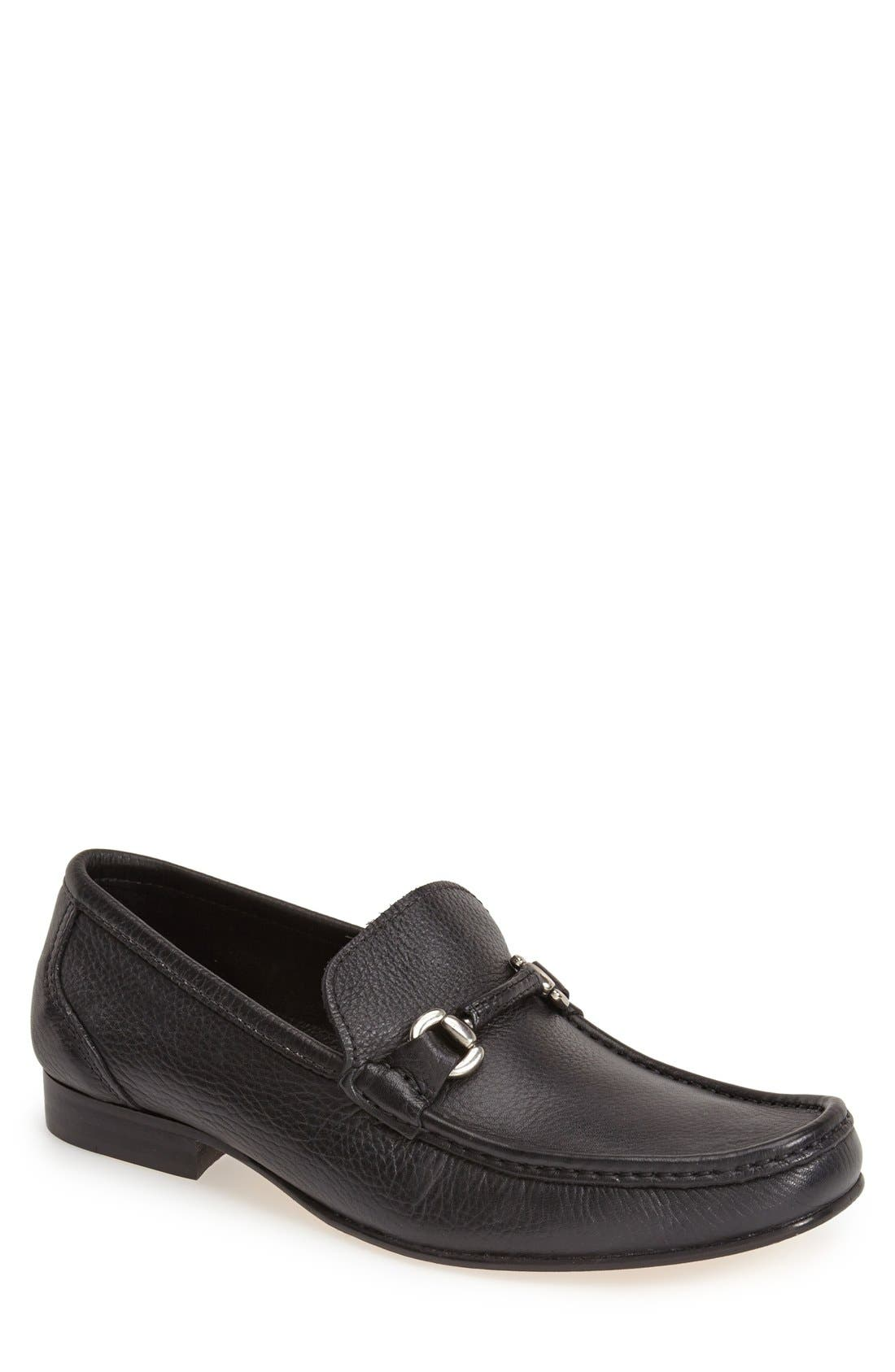 Alternate Image 1 Selected - Sandro Moscoloni 'San Remo' Leather Bit Loafer (Men)