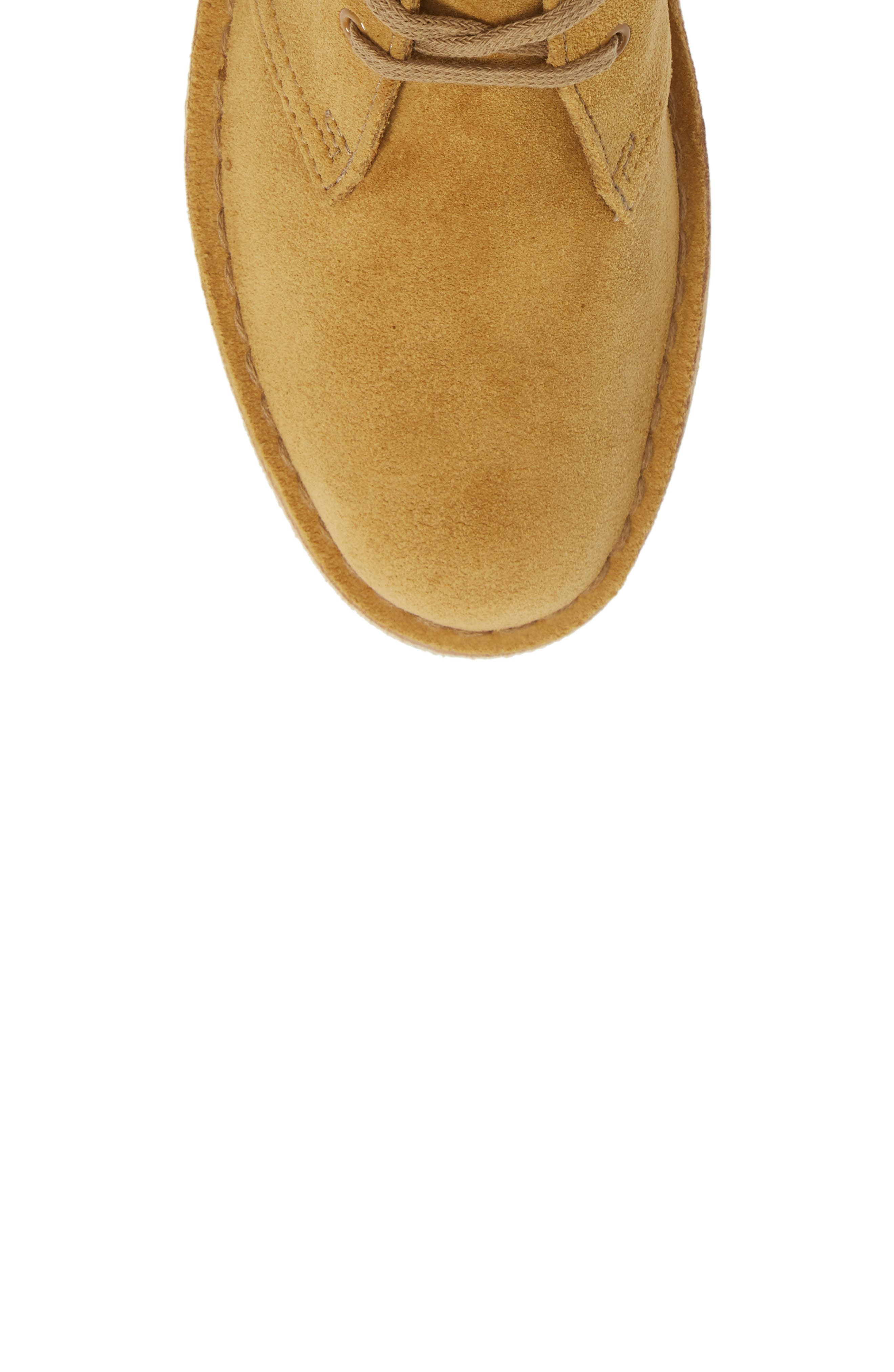 Desert Bootie,                             Alternate thumbnail 3, color,                             Oak Suede