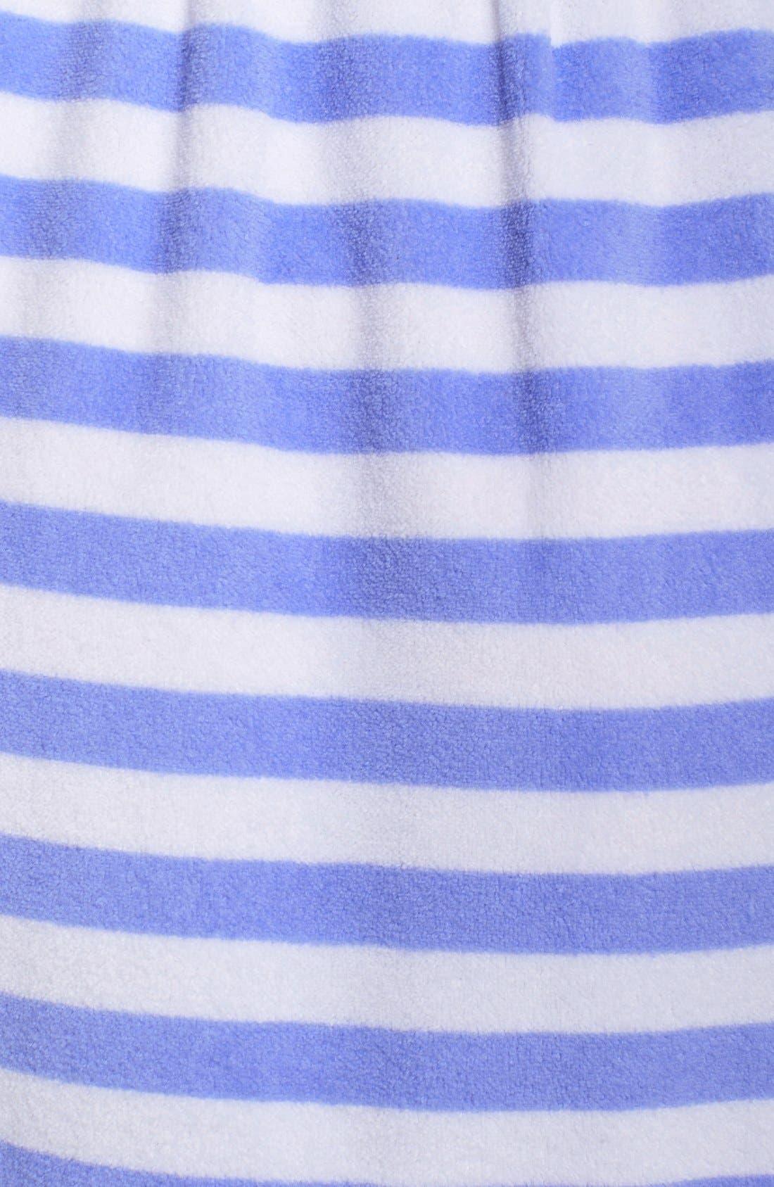 Alternate Image 3  - Betsey Johnson Hooded Stripe Terry Robe