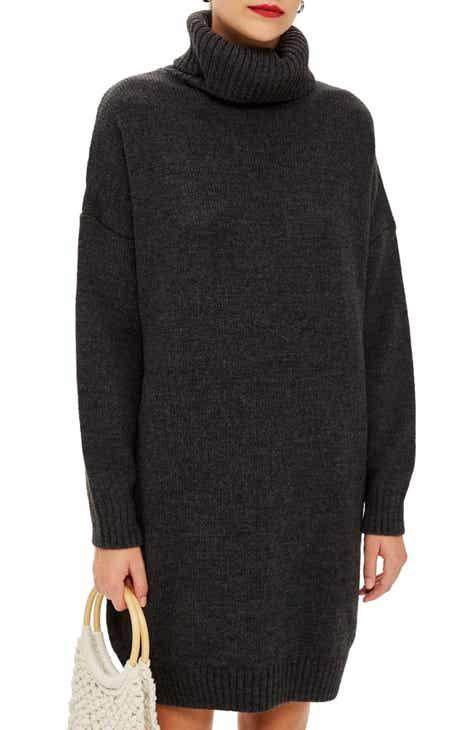a7d179aa8fd Topshop Turtleneck Sweater Dress