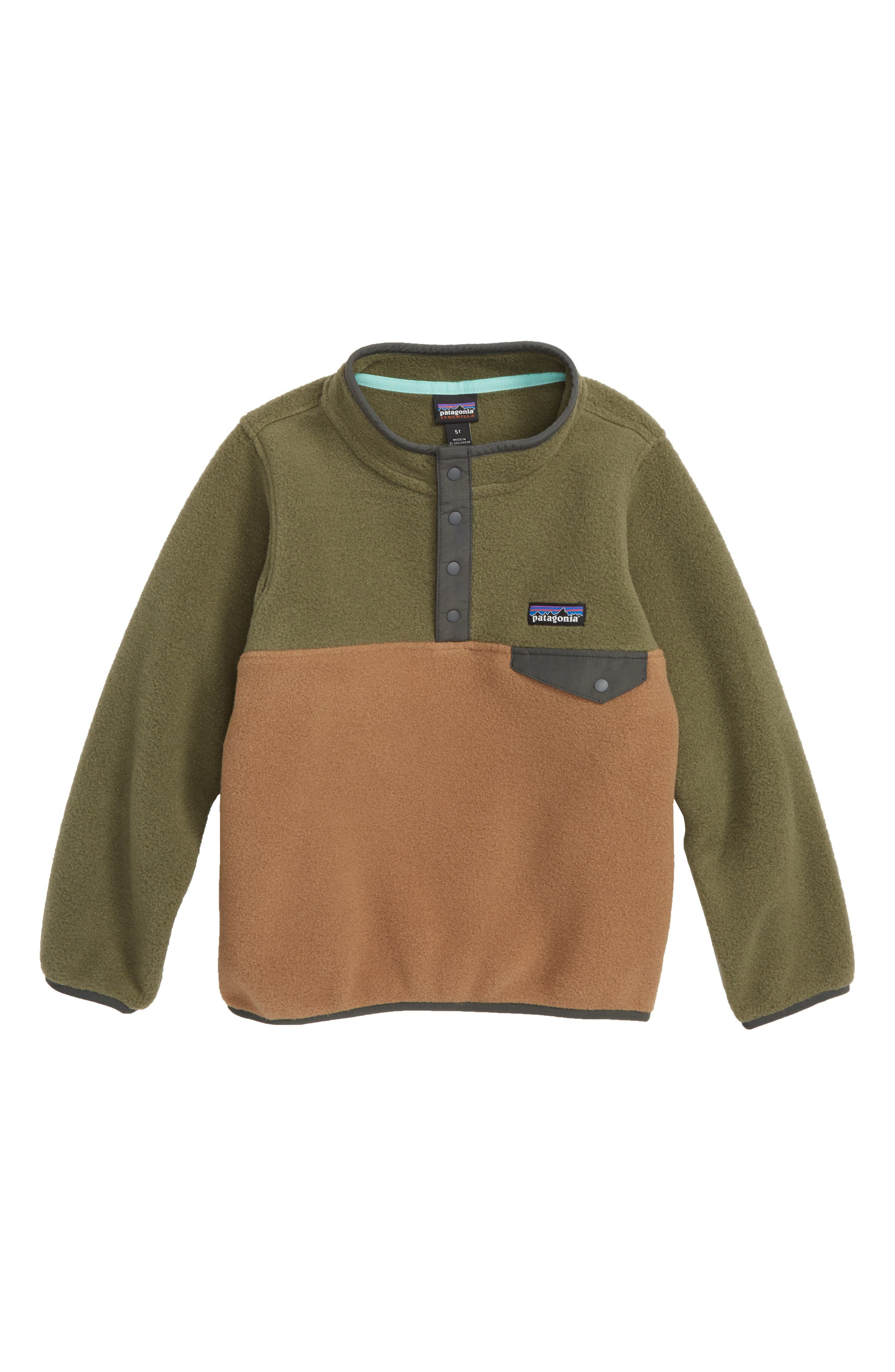 Synchilla<sup>®</sup> Snap-T<sup>®</sup> Fleece Pullover,                         Main,                         color, Coriander Brown