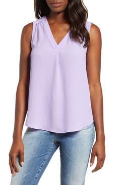 Women S Purple Tops Nordstrom
