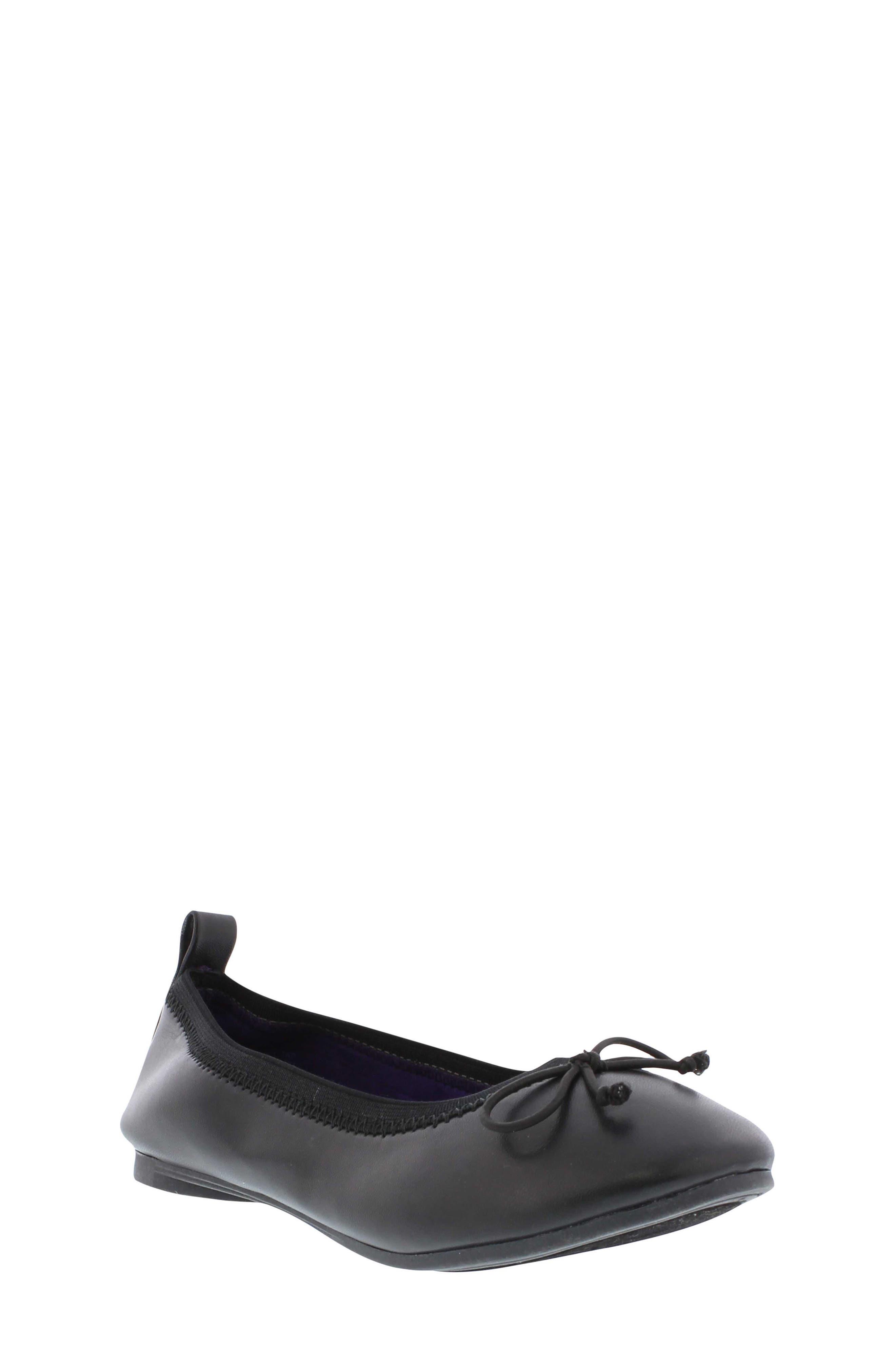Copy Tap Ballet Flat,                         Main,                         color, Black