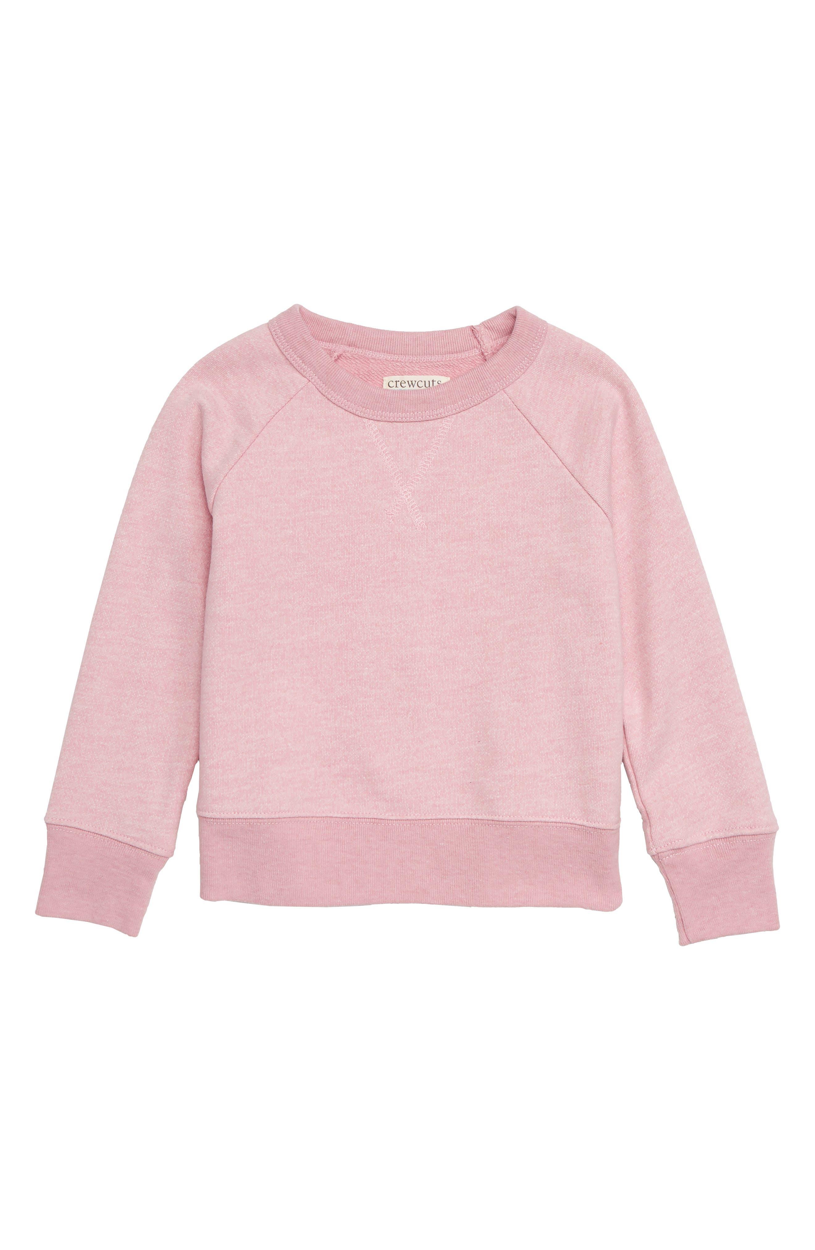 Crewneck Sweatshirt,                         Main,                         color, Quartz