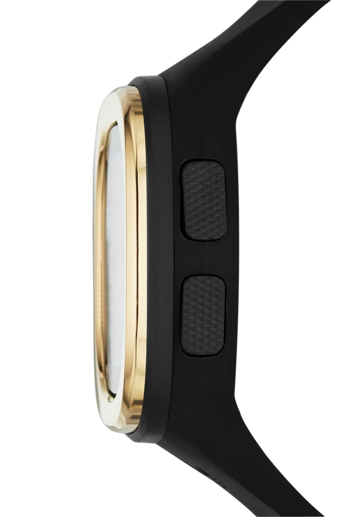 Alternate Image 2  - adidas Originals Denver Digital Silicone Strap Watch, 42mm