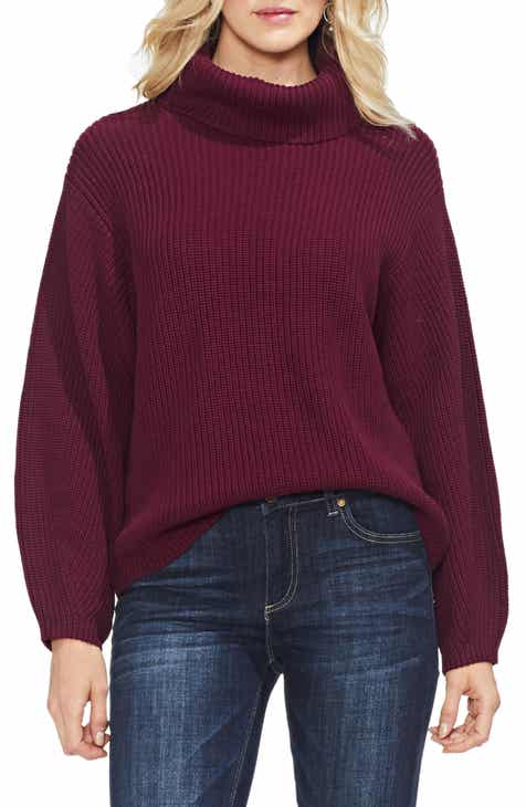 vince camuto slouchy turtleneck sweater regular petite