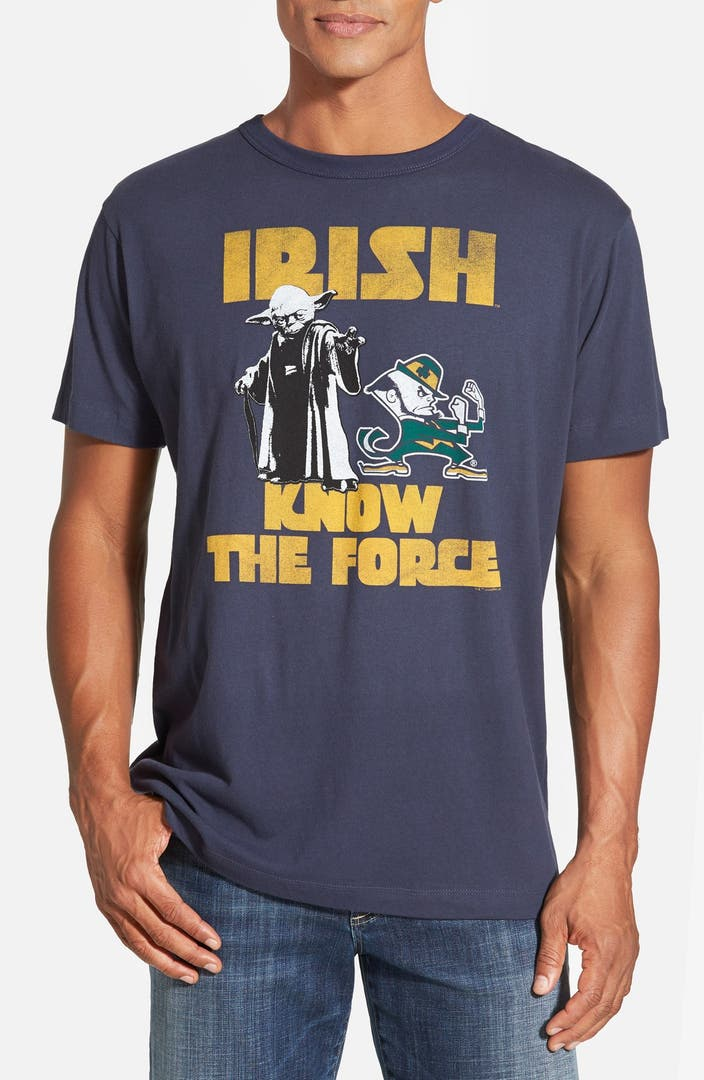 Tailgate notre dame 39 star wars 39 t shirt nordstrom for Notre dame tee shirts