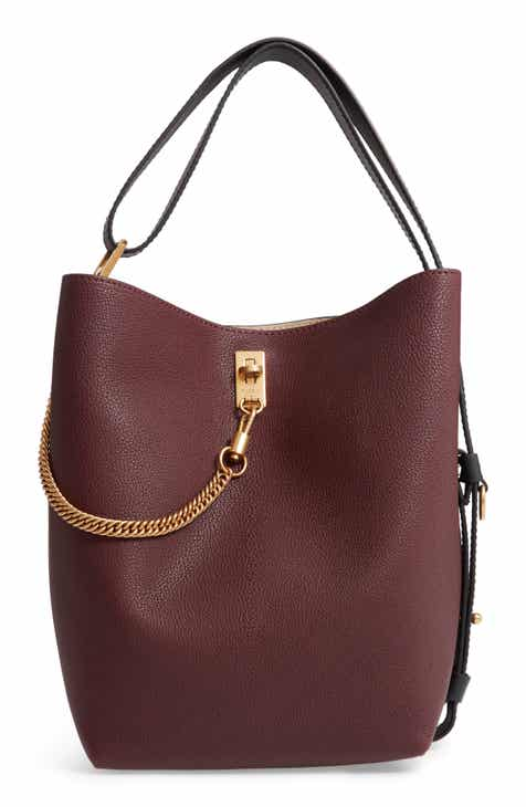 Givenchy Medium Gv Goatskin Bucket Bag
