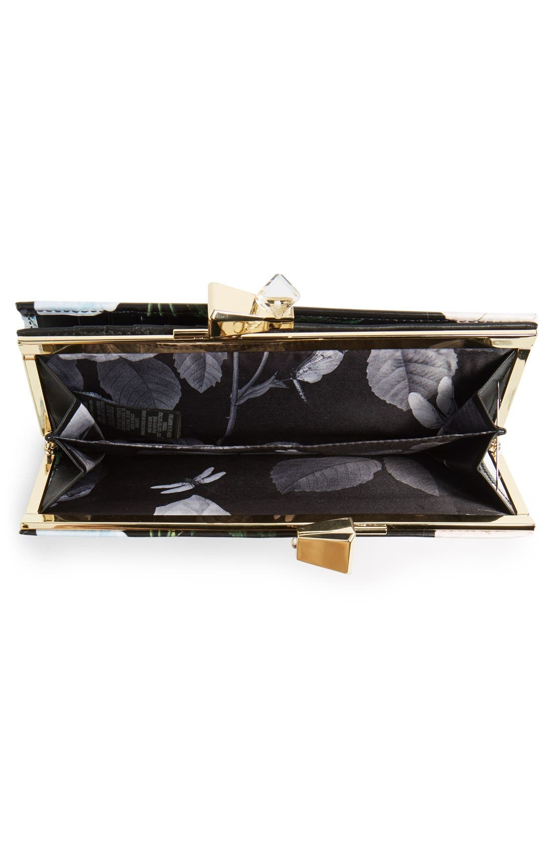 Alternate Image 4  - Ted Baker London Floral Bow Matinee Wallet