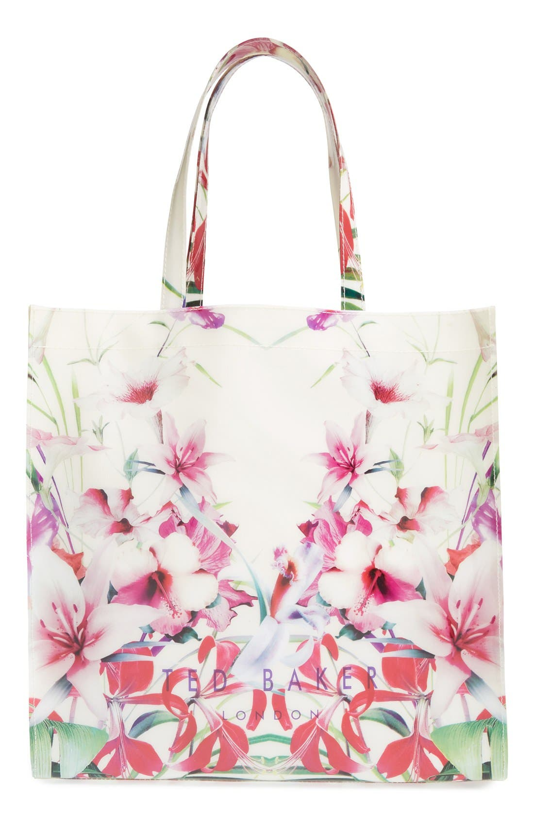 Alternate Image 1 Selected - Ted Baker London 'Mirrored Tropics Icon' Tote