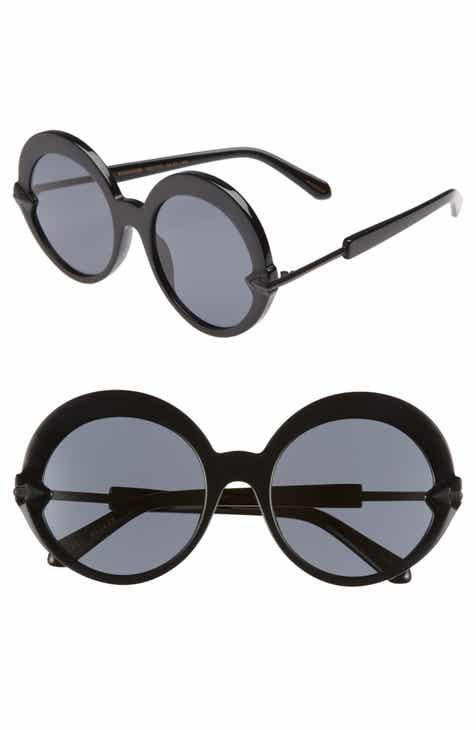 0838f8578393 Karen Walker Romancer 56mm Round Sunglasses