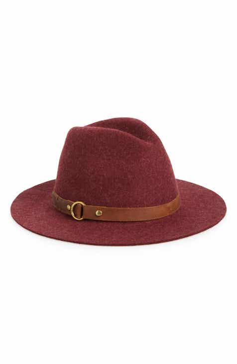 Frye Harness Wool Felt Panama Hat f7ddab7a9