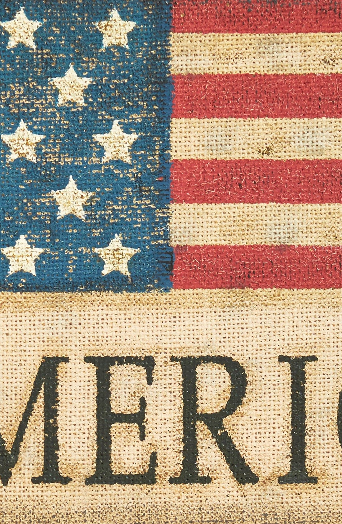 Alternate Image 2  - Transpac 'Americana' Burlap Wall Sign