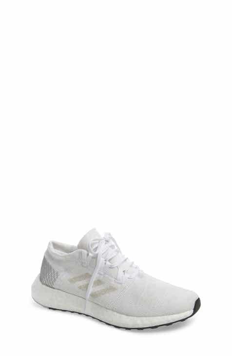 adidas PureBoost GO Running Shoe (Big Kid) 514efdc6e