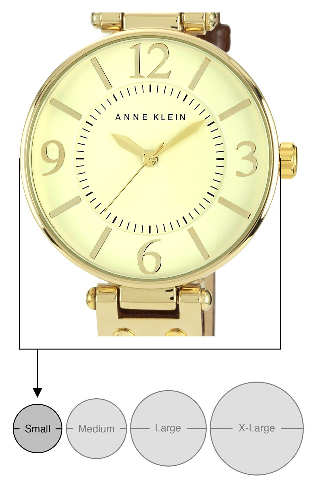 Alternate Image 6  - Anne Klein Hinge Case Watch, 32mm