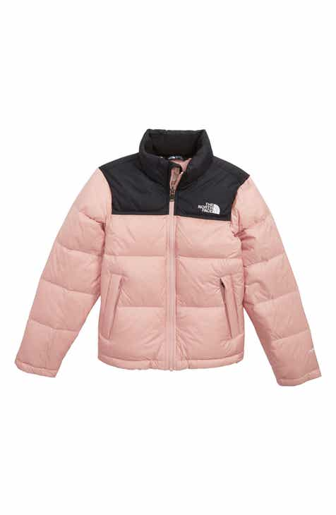 The North Face Nuptse 700 Fill Power Down Puffer Jacket (Big Girls) a476af3b4