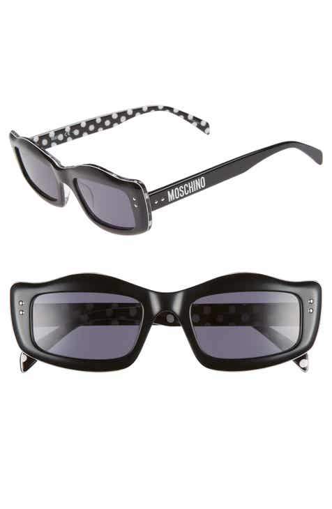 f41f65ee05 Moschino 51mm Rectangle Sunglasses