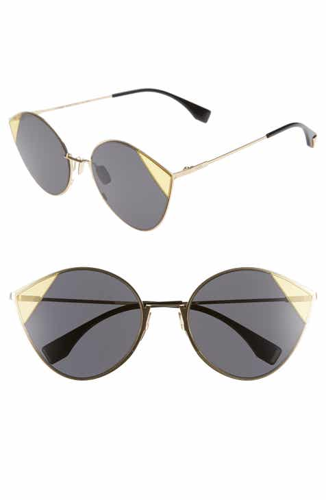 f2b58654cd0 Fendi 60mm Cat Eye Sunglasses