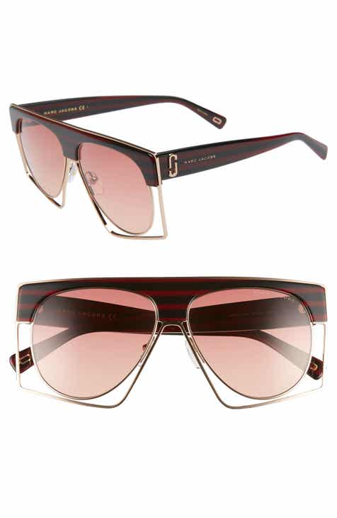 04b385ec4259 MARC JACOBS 58mm Flat Top Sunglasses