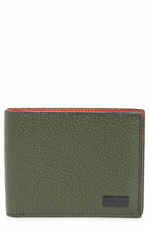 47cd5c86a1f0 Salvatore Ferragamo New Firenze Leather Wallet