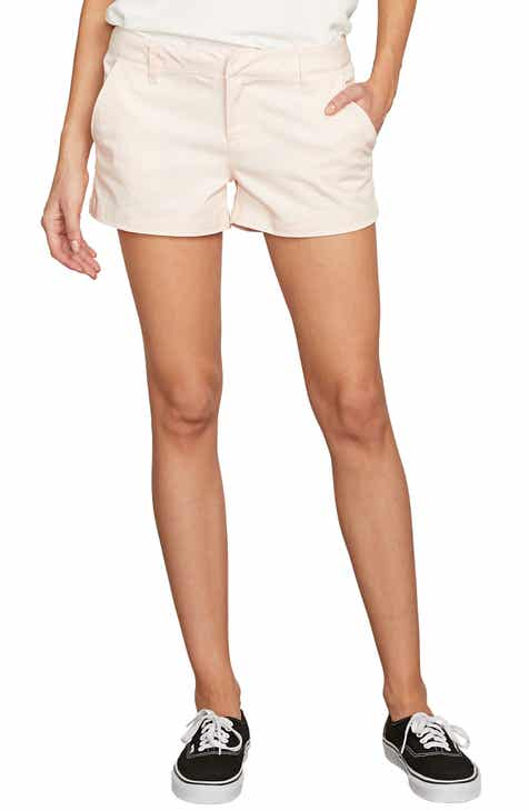 Unionbay Roxie Distressed Side Stripe Denim Shorts by UNIONBAY