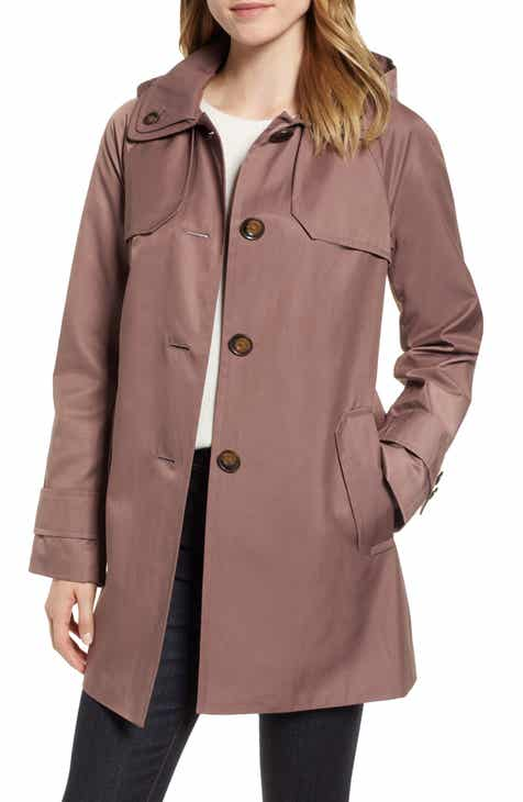 London Fog Removable Hood Rain Coat by LONDON FOG