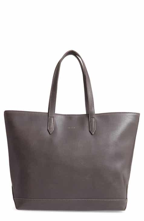 Matt Nat Schlepp Faux Leather Tote