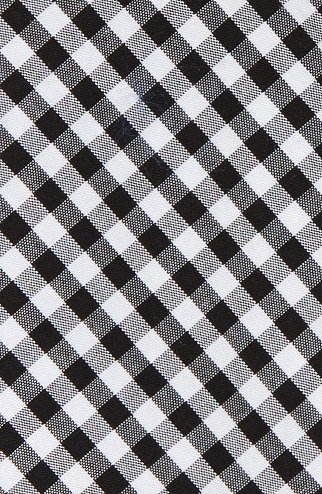 Alternate Image 3  - The Tie Bar Gingham Cotton Bow Tie (Online Only)