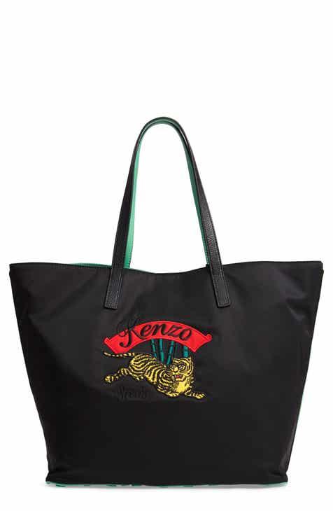 e42fd3868e2 KENZO Tote Bags for Women: Leather, Coated Canvas, & Neoprene ...