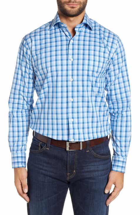 d649b13355b1 Peter Millar Cottage Regular Fit Sport Shirt
