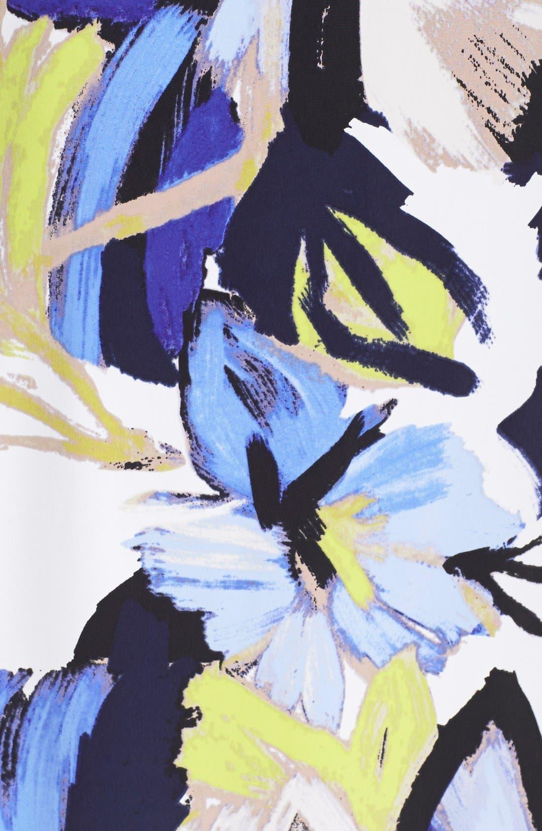 Alternate Image 4  - Vince Camuto Floral Print Shift Dress
