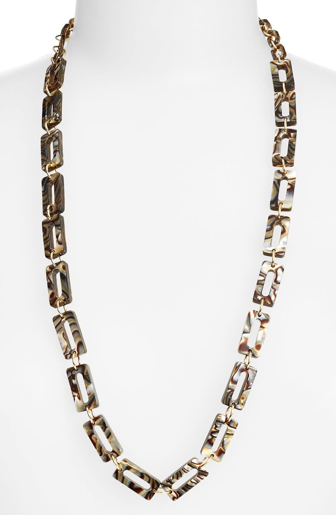 L. Erickson 'Mimi' Link Necklace