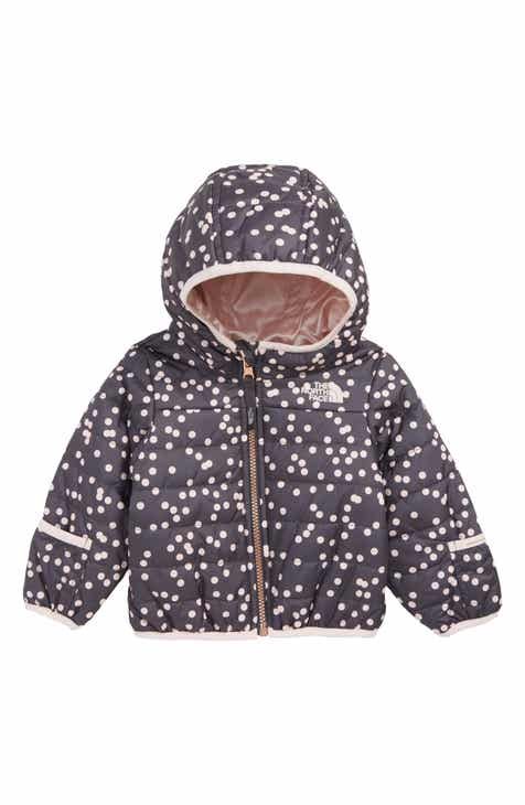 The North Face Perrito Reversible Water Repellent Jacket (Baby Girls) 78ac2a6fb4
