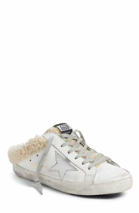 54694d9a6da8 Golden Goose Sabot Superstar Genuine Shearling Slide Sneaker (Women)