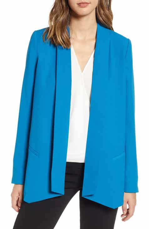 Halogen® Shawl Collar Blazer (Regular, Petite & Plus Size)