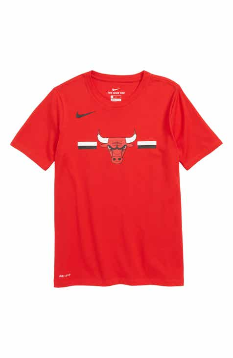 Nike Chicago Bulls Dri-FIT T-Shirt (Big Boys)